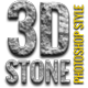 26 3D Stone Style - GraphicRiver Item for Sale