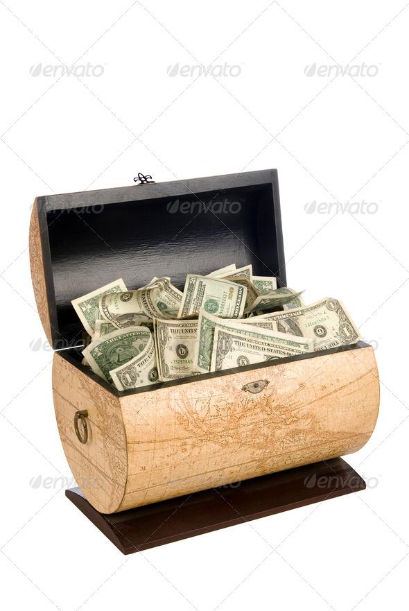 Cash box - Stock Photo - Images