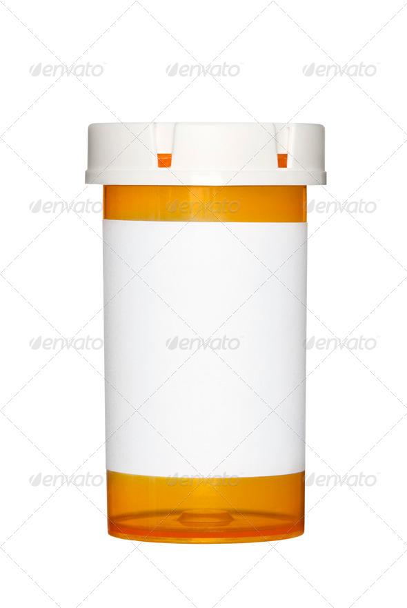 Mediciane piil bottle - Stock Photo - Images