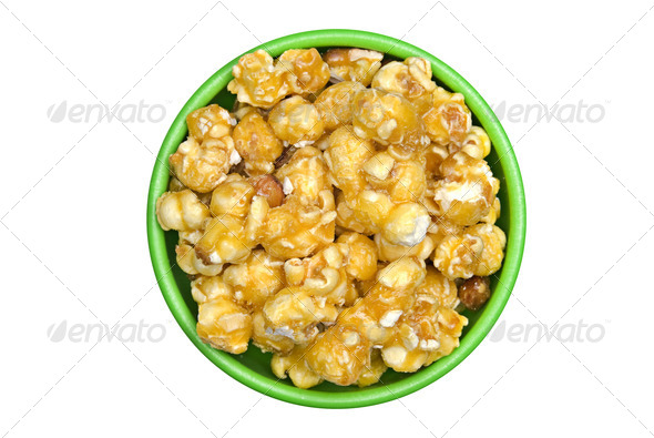 Caramel popcorn - Stock Photo - Images