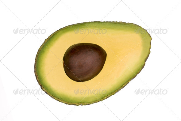 Avocado halve - Stock Photo - Images