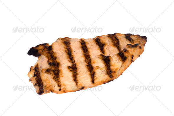 Grilled chicken breast - Stock Photo - Images