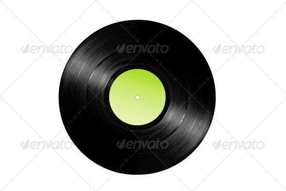 Vinyl record album - Stock Photo - Images
