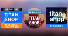 Supermarket Template - TitanShop