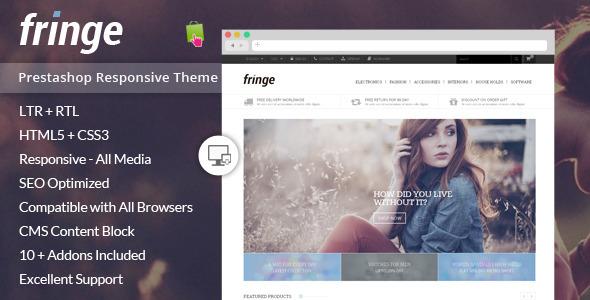Fringe – Prestashop Responsive Theme