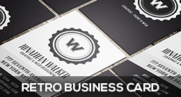 Retro Business Cards