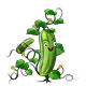 Cucumber Plant Game Sprite - GraphicRiver Item for Sale