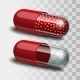 Red and Transparent Pills - GraphicRiver Item for Sale