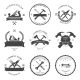 Carpentry Tools. Labels and Design Elements - GraphicRiver Item for Sale