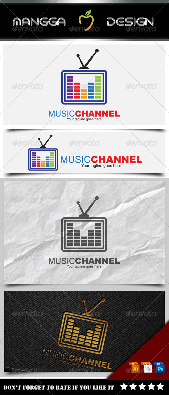 Music Channel Logo