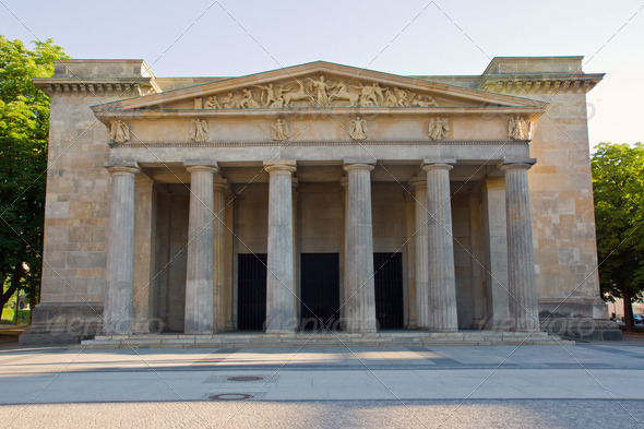 Neue Wache in Berlin - Stock Photo - Images