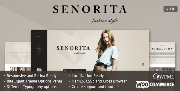 Senorita Responsive WordPress Theme - Blog / Magazine WordPress