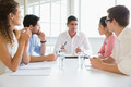 Business people discussing in meeting at conference table in office - PhotoDune Item for Sale