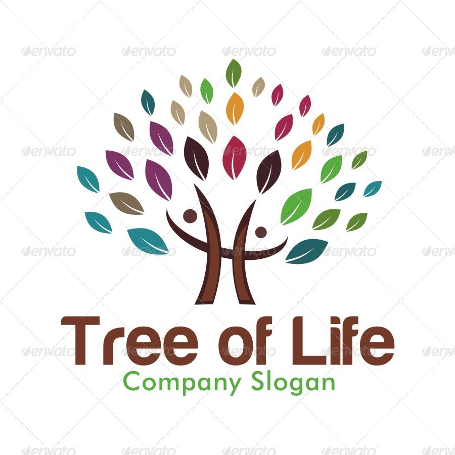 Tree Of Life Logo By FluxArt