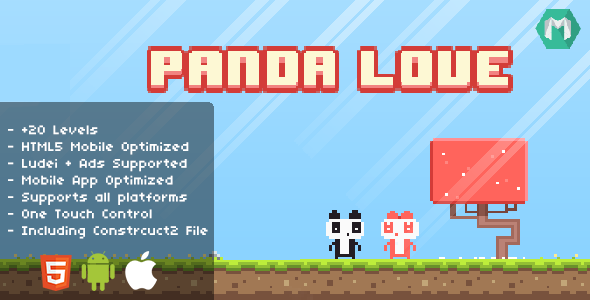 Panda Love - CodeCanyon Item for Sale
