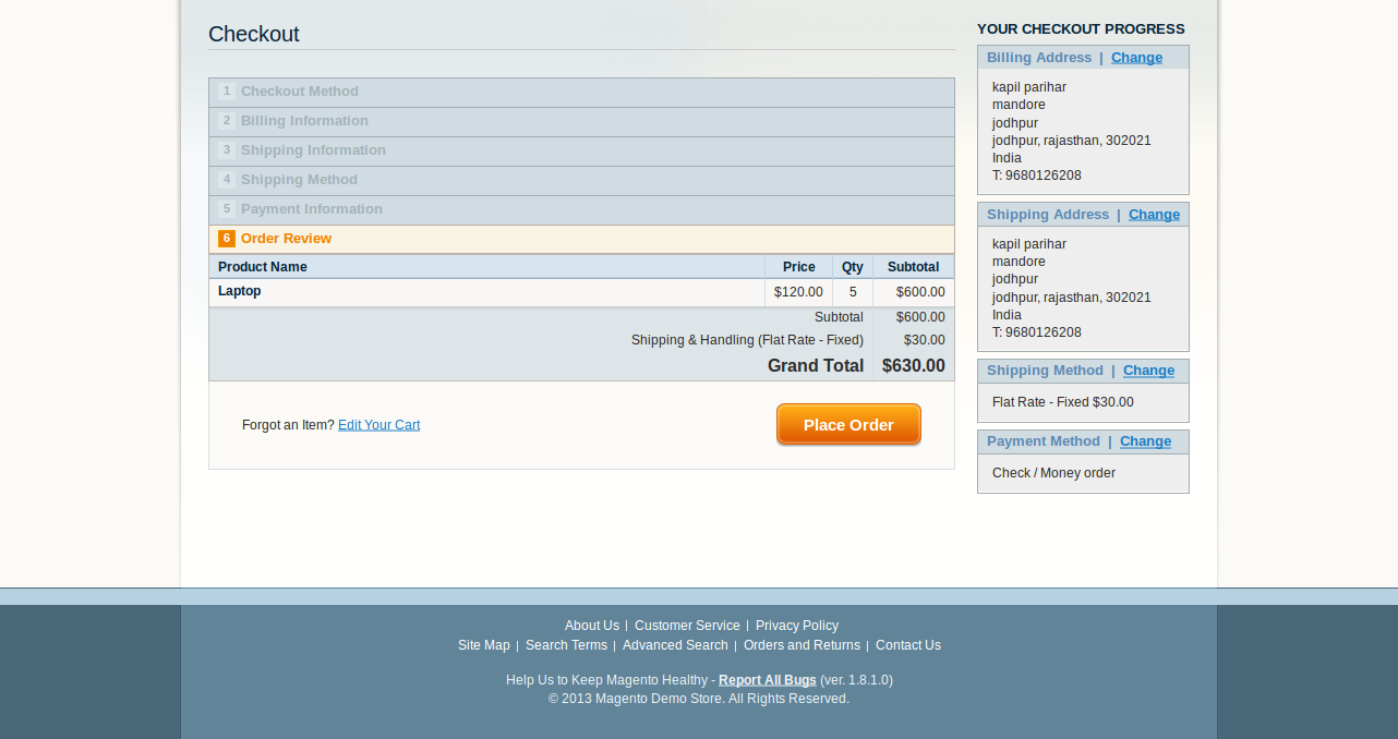 Per Product Flat Shipping Magento Extension by ...
