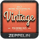 Vintage Text Effects Vol.2 - GraphicRiver Item for Sale