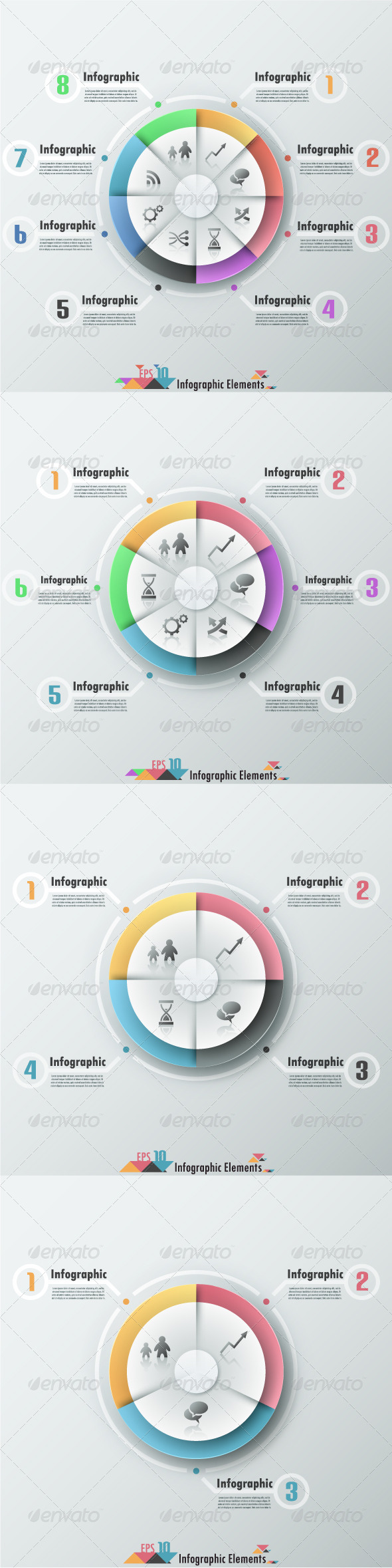 Modern Infographic Banner With Pie Chart - Infographics