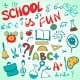 Hand Drawn School Icons Set - GraphicRiver Item for Sale