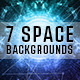 Abstract Future Space Nebula Light Ray Background - GraphicRiver Item for Sale