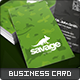 Savage Business Card - GraphicRiver Item for Sale