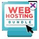 Web Hosting Banner Bundle - 3 sets - GraphicRiver Item for Sale