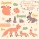 Baby and Mommy Animal Set - GraphicRiver Item for Sale