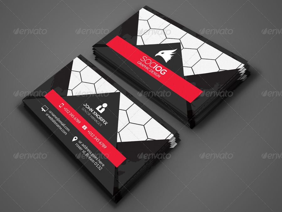 Sports business card by axnorpix graphicriver sports business card colourmoves Image collections