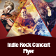 Indie Rock Concert Flyer Template - GraphicRiver Item for Sale