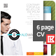 Creative Personal Resume and CV - GraphicRiver Item for Sale