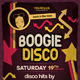 Boogie Disco Flyer - GraphicRiver Item for Sale