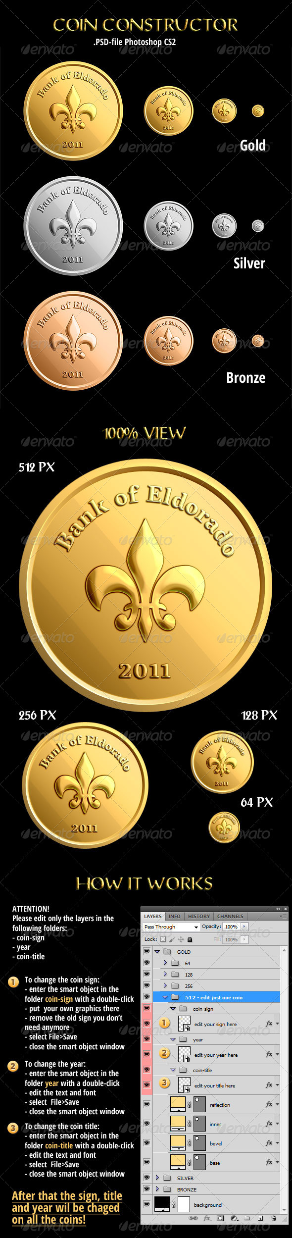 Coins Constructor - Miscellaneous Graphics