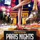 Paris Nights Party Flyer Template - GraphicRiver Item for Sale