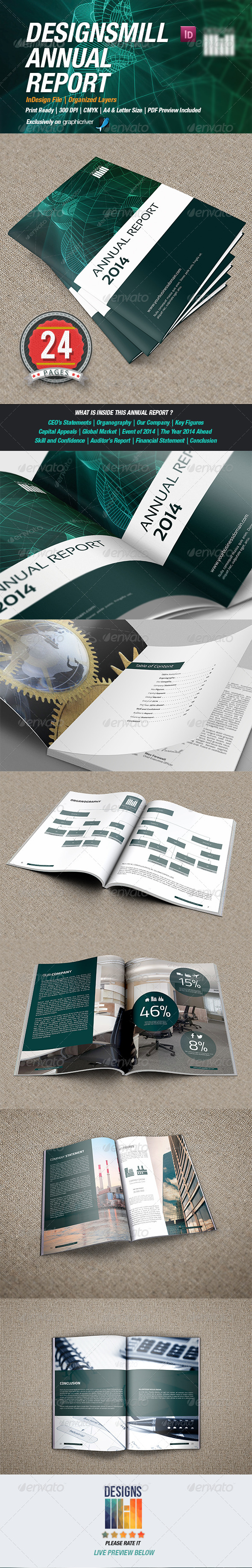 DesignsMill Annual Report - Corporate Brochures