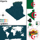 Map of Algeria - GraphicRiver Item for Sale