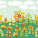 Cute Vintage Seamless Border - GraphicRiver Item for Sale