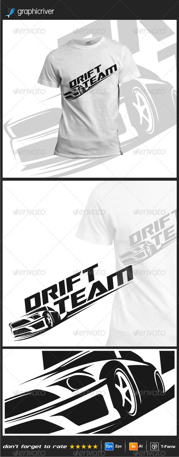 Drift Team T-Shirts