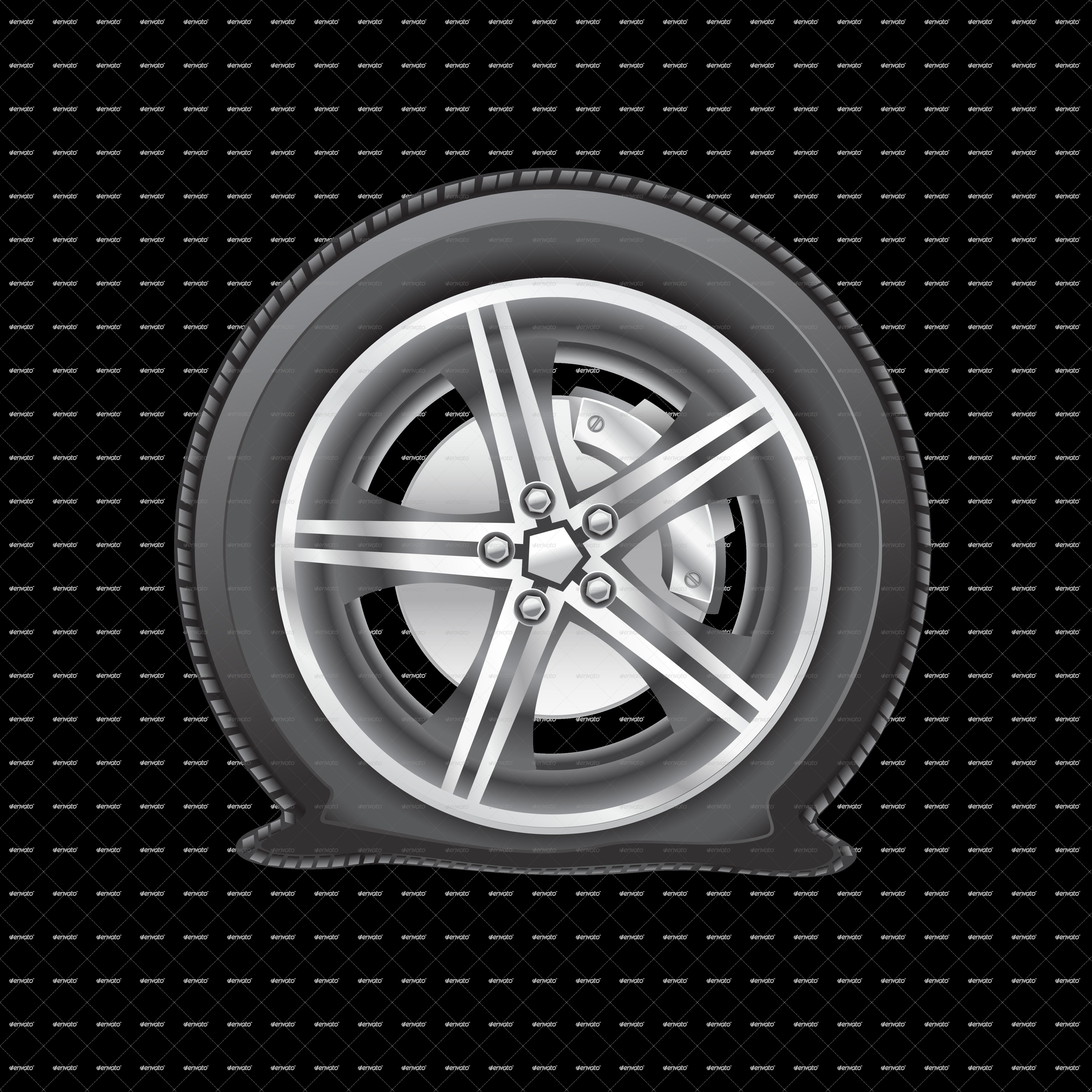Free Car Tire Cliparts, Download Free Clip Art, Free Clip ...  Flat Tires Cartoon Hands
