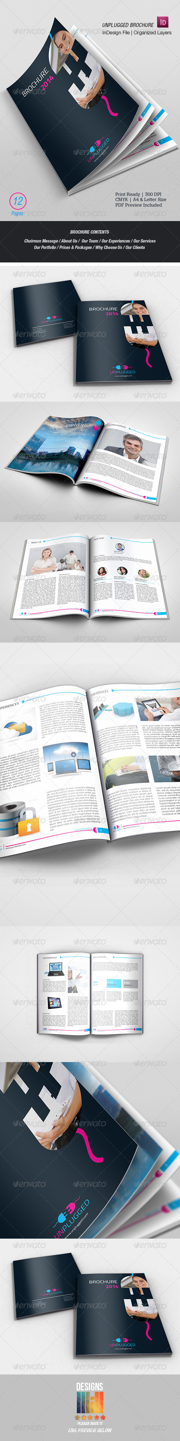 UnPlugged Multipurpose Brochure - Corporate Brochures