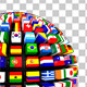 World Flags Globe Pack