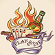 Play or Die - Tattoo Design - GraphicRiver Item for Sale
