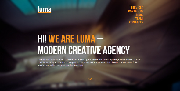Luma - Corporate Muse Templates