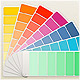 Fan Color Chart Mock-Up - GraphicRiver Item for Sale