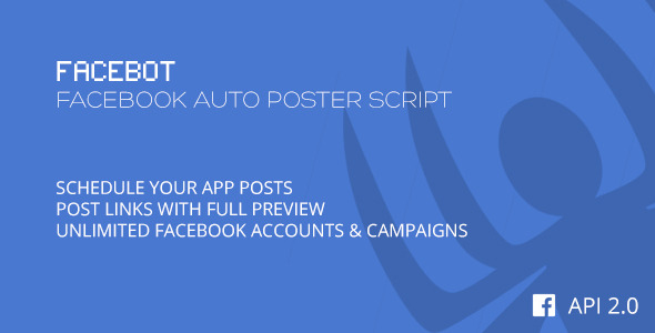 Facebot - Facebook Auto Poster Script - CodeCanyon Item for Sale