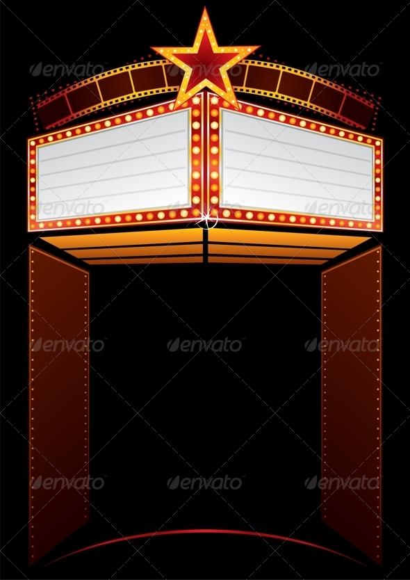 film premiere invitation template - movie premiere by oxygen64 graphicriver