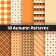 10 Autumn Seamless Patterns - GraphicRiver Item for Sale