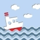 Ship On the Ocean - GraphicRiver Item for Sale