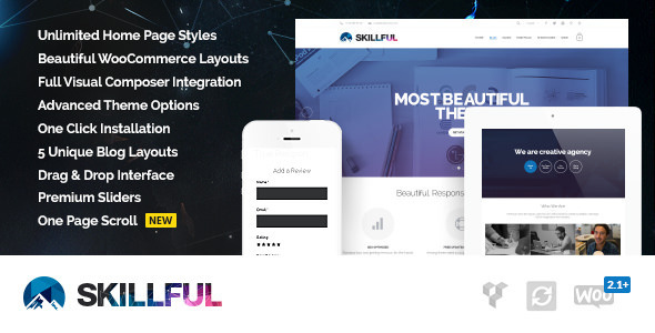 Skillful | Responsive Multi-Purpose Theme - Corporate WordPress