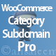 WooCommerce Category Subdomain Pro