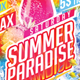 Flyer Summer Paradise Konnekt - GraphicRiver Item for Sale